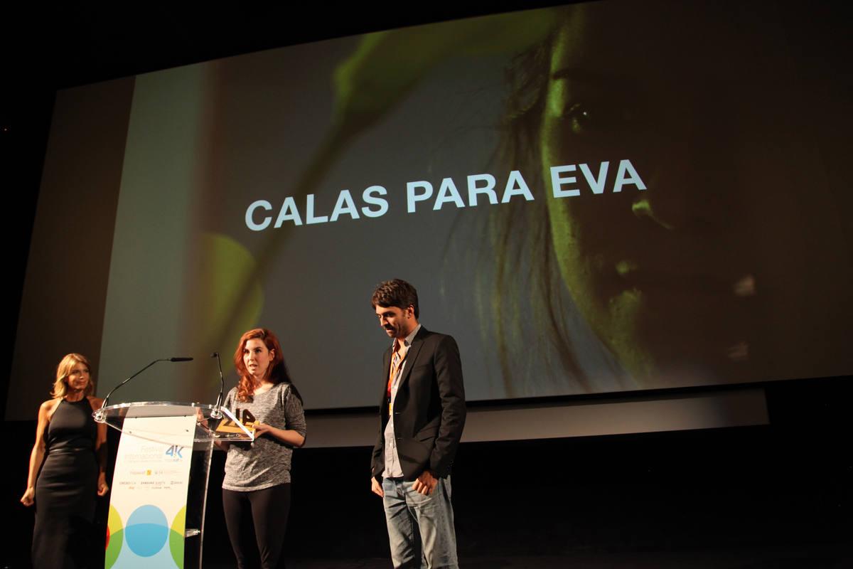 Ilune Díaz recogió el Premio RTVE por su corto 'Calas para Eva'