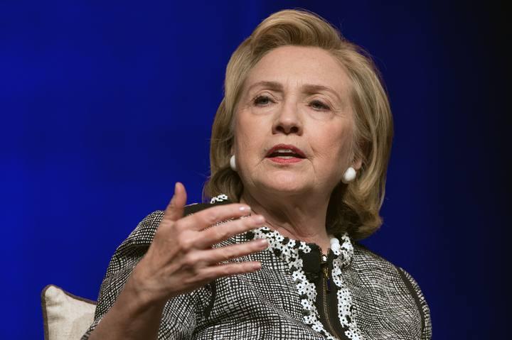 Imagen de archivo (2014) de Hillary Clinton, exsecretaria de Estado de EE.UU.