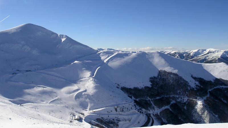 Imagen de archivo de los alrededores de la estación de esquí de Valdezcaray, en La Rioja.