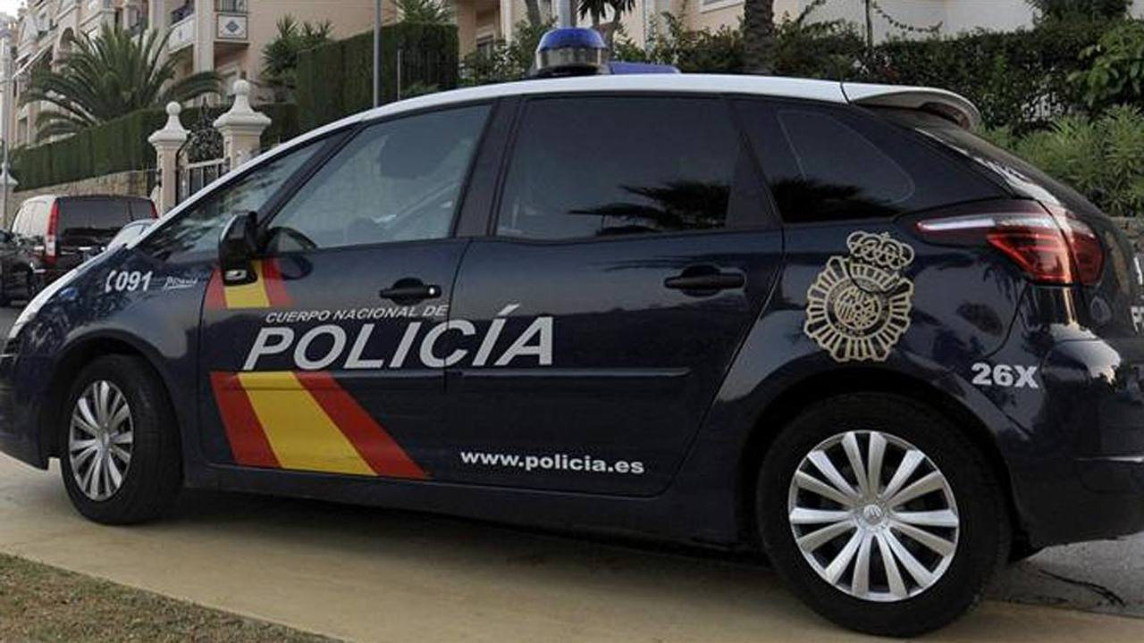 Imagen de archivo de un coche policial.