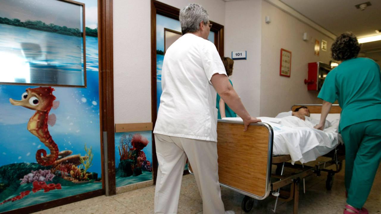 Imagen de archivo del Hospital 12 de Octubre de Madrid