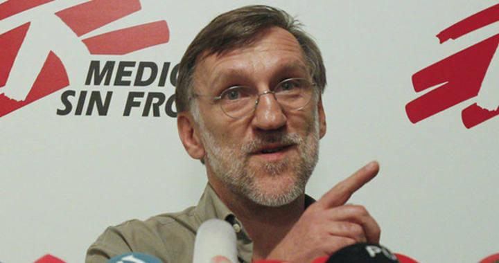 Imagen de archivo del presidente de Médicos sin Fronteras España, José Antonio Bastos.