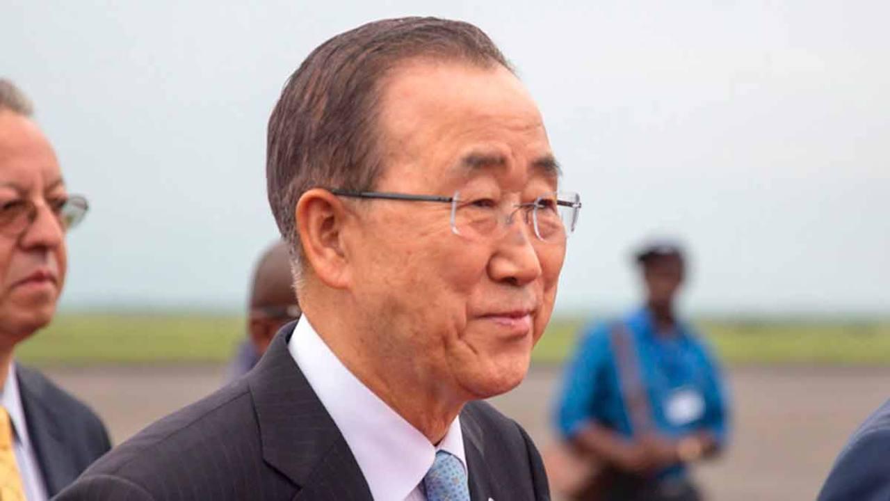 Imagen de archivo del secretario general de la ONU, Ban Ki-moon.