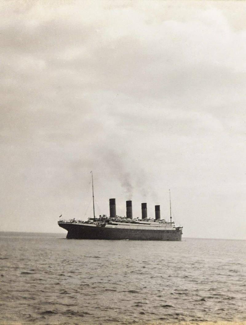 Imagen de archivo del Titanic.