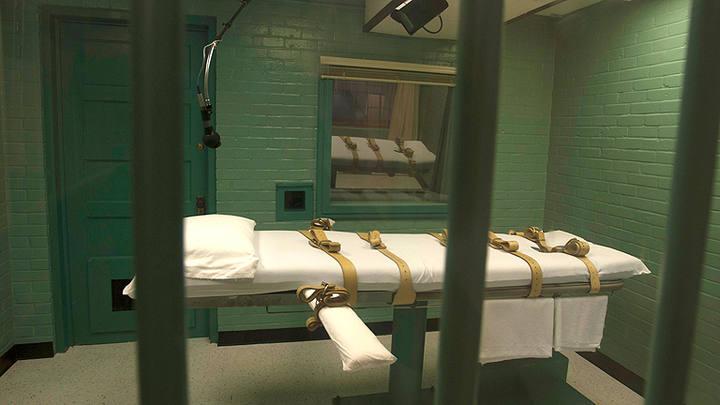 Imagen de archivo de una sala de ejecución por inyección letal en EE.UU.