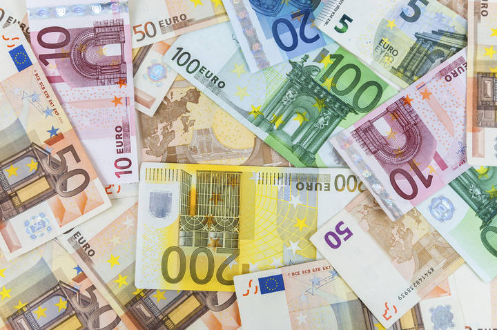 Imagen de billetes de euros