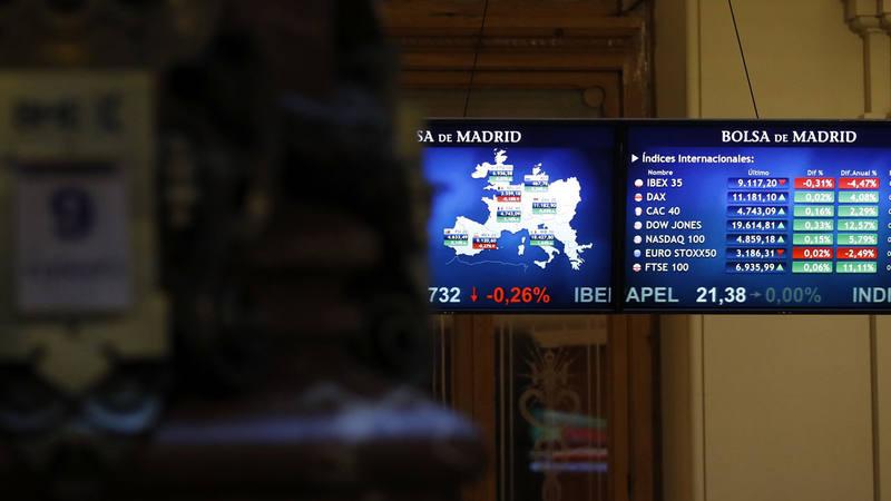 Imagen de la Bolsa de Madrid este viernes 9 de diciembre