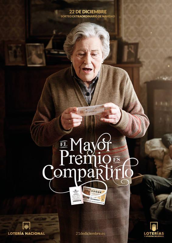 Imagen del anuncio de la Lotería de Navidad 2016
