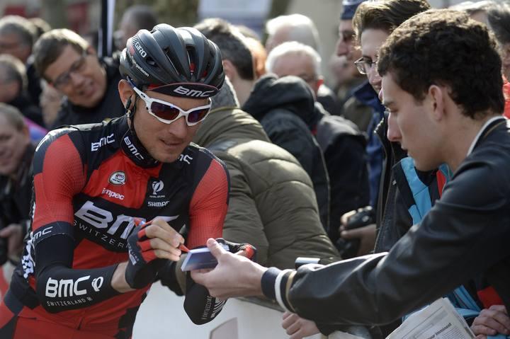 Imagen del ciclista norteamericano del BMC Tejay Van Garderen.