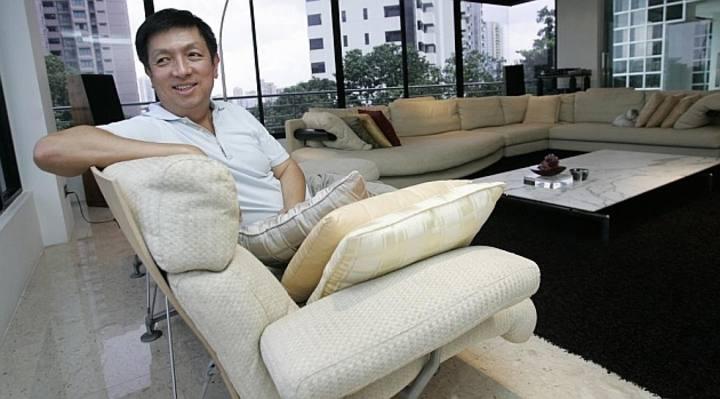 Imagen del empresario de Singapur Peter Lim.