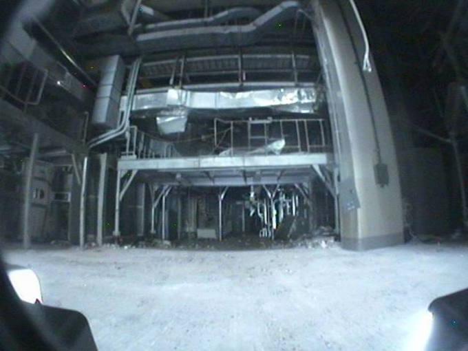 Imagen del interior de la central nuclear de Fukushima facilitada por TEPCO
