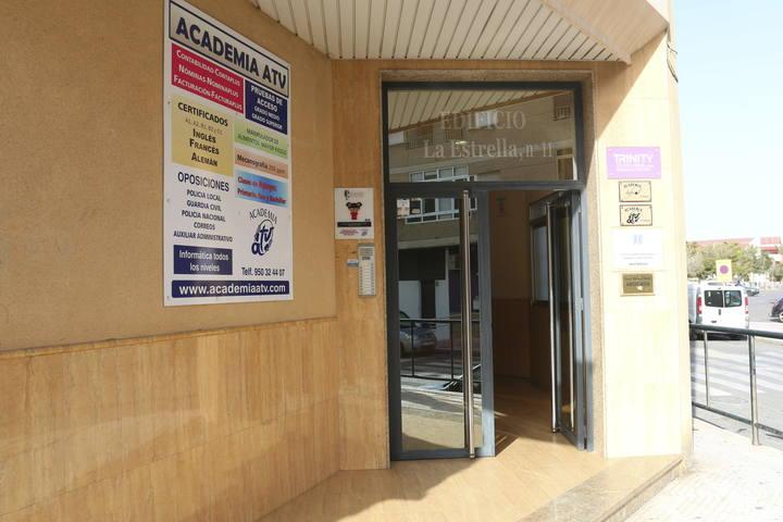 Imagen del pasado febrero de una academia investigada en la 'Operación Edu'.
