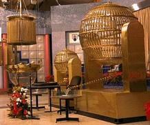 Imagen del salón de loterías