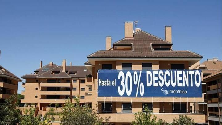 Imagen de un descuento en la venta de una urbanización de viviendas