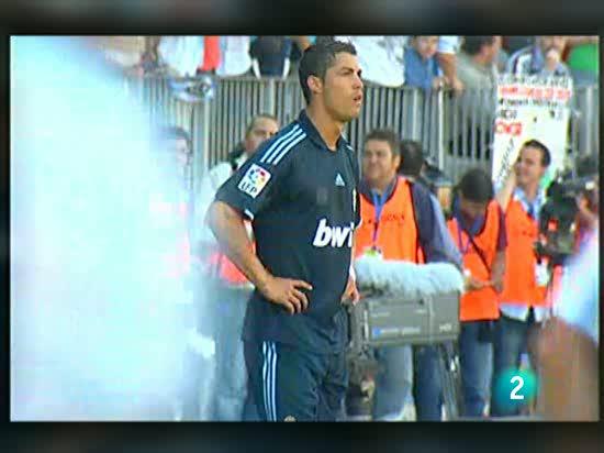 El Madrid, la imagen de la desesperación