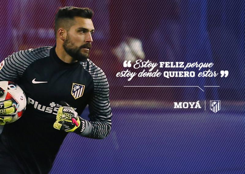 Imagen extraida de la página web oficial del Atlético de Madrid.