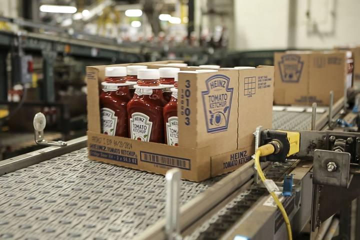 Imagen de la fábrica de ketchup Heinz en Fremont, Ohio, Estados Unidos