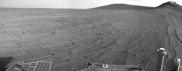 Imagen de Marte captada por el rover Opportunity de la Nasa