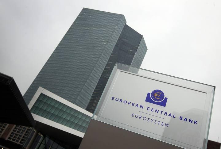 Imagen de la nueva sede del Banco Central Europeo, BCE