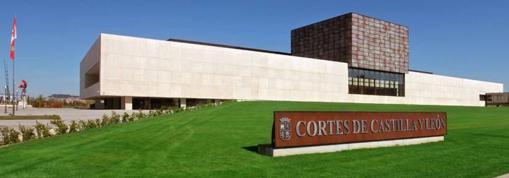 Imagen de la sede de las Cortes de Castilla y León.