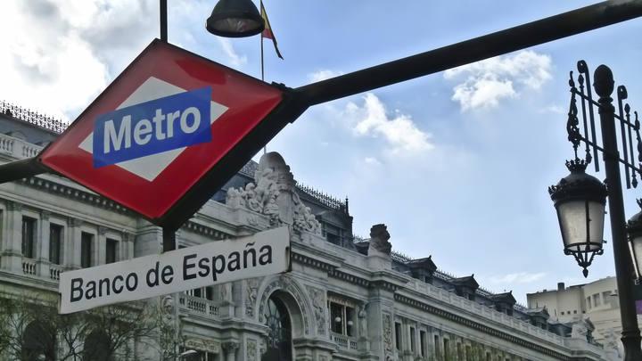 Imagen de la sede del Banco de España en Madrid