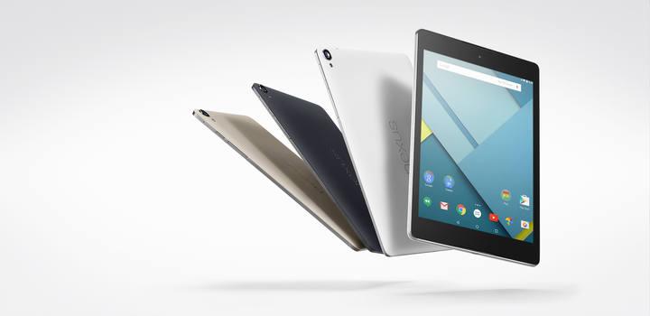 Imagen de la tableta Nexus 9 de Google que fabricará HTC.