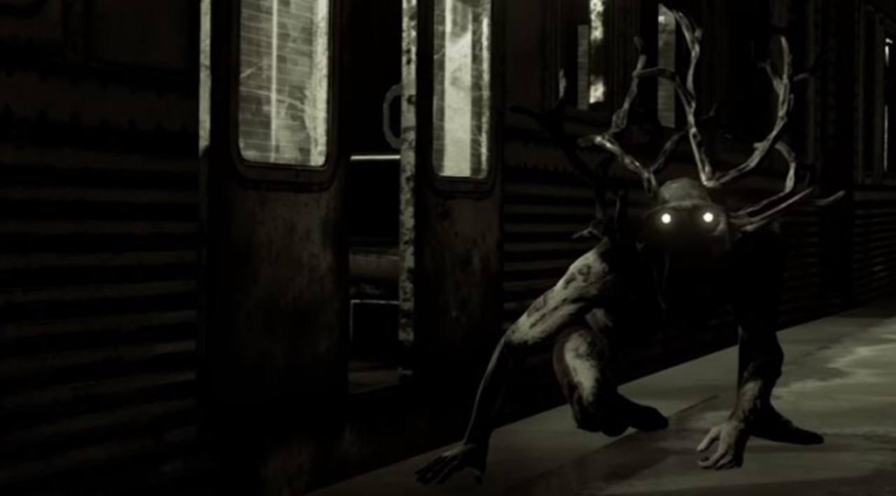 Imagen de uno de los monstruos del juego 'Here they lie'.
