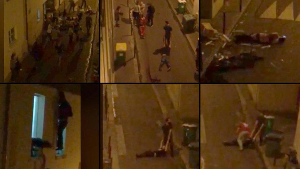 Resultado de imagen de matanza terrorista en paris cadena de atentados