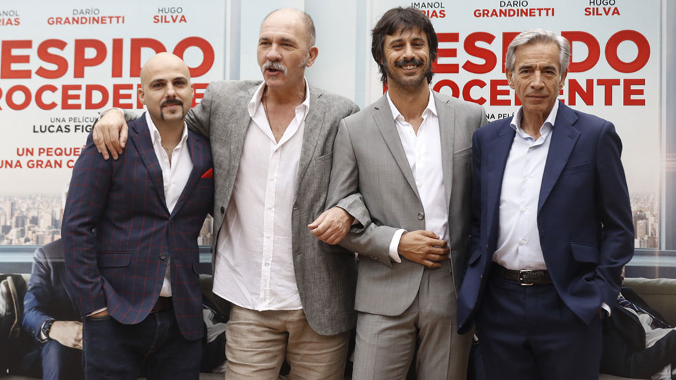 Imanol Arias, Hugo Silva y Dario Grandinetti protagonizan 'Despido procedente': una historia descarnada con la presión laboral como escenario.