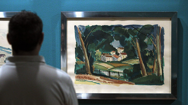 El Círculo de Bellas Artes de Madrid expone una muestra del falsificador Elmyr de Hory