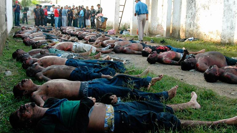 Más de 300 muertos en un incendio en una cárcel de Honduras