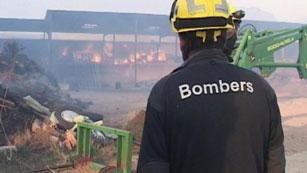 5 incendios en el Pirineo queman unas 1.000 hectáreas