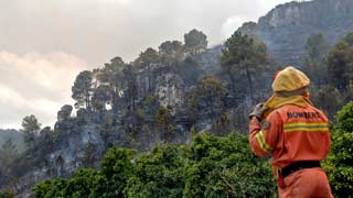 Los incendios en Valencia han quemado ya unas 4.000 hectáreas