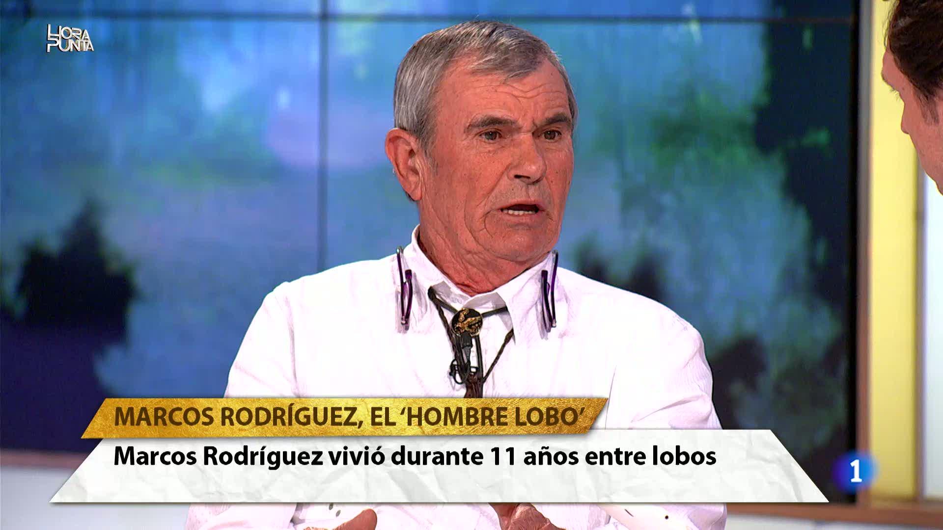Hora Punta - Increíble la historia de Marcos Rodríguez, el `Hombre Lobo¿. Vivió durante 11 años entre lobos
