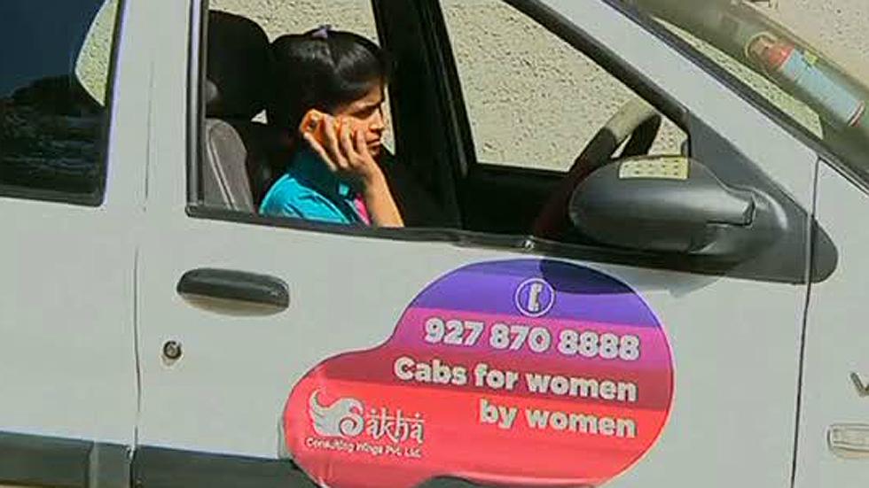 India estrena un servicio de taxis solo para mujeres