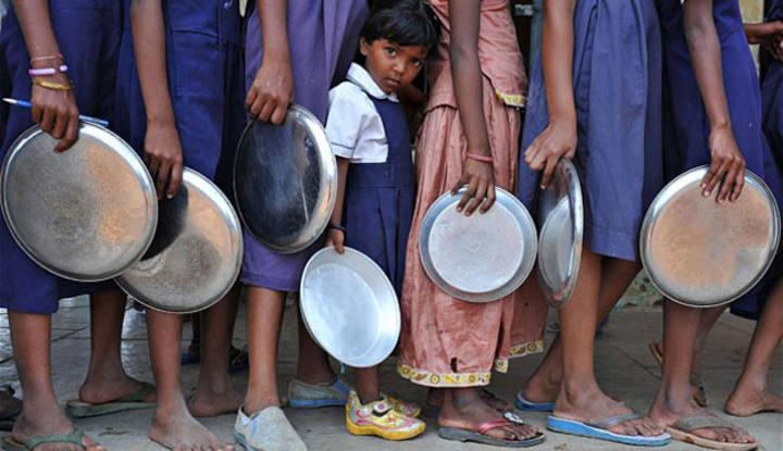 India es la mayor democracia y el país con más hambrientos del mundo.