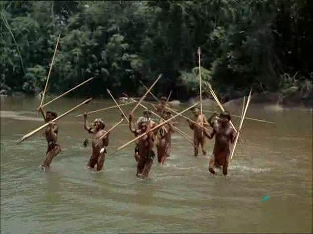 El hombre y la tierra - En busca de los indios del Alto Orinoco