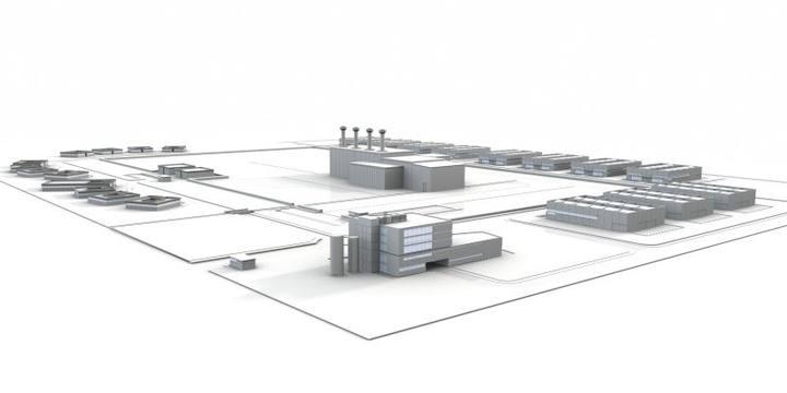 Infografía del proyecto del Almacén Temporal de Residuos Nucleares