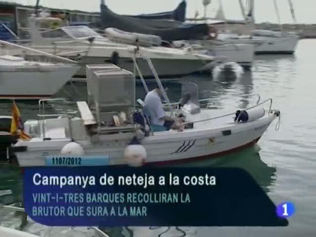 Informatiu Balear en 2' - 11/07/12