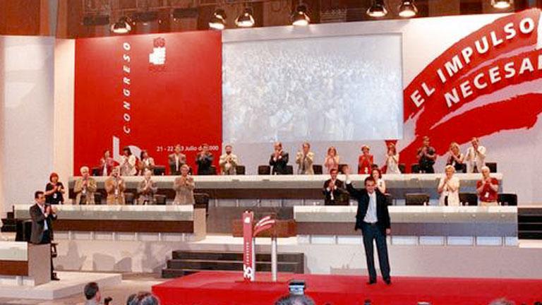 Informe Semanal (2000): 35 Congreso del PSOE, José Luis Rodríguez Zapatero, secretario general