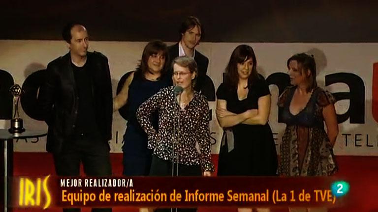 Informe Semanal, premio IRIS a la mejor Realización