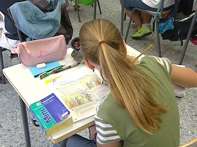 Informe sobre el nivel de los alumnos de cuarto de primaria en España