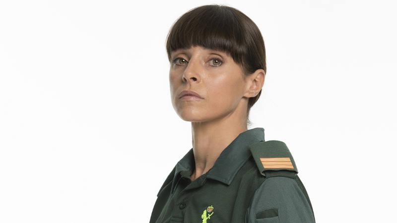 Ingrid Rubio interpreta a Sargento Lara en 'Si fueras tú'