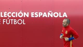 Iniesta, la 'brújula' de la Roja en Francia