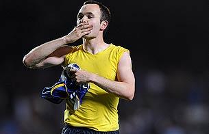 Iniesta, héroe en 'Stamford Bridge'