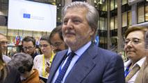 Ir al VideoÍñigo Méndez de Vigo sustituye a Wert como ministro de Cultura