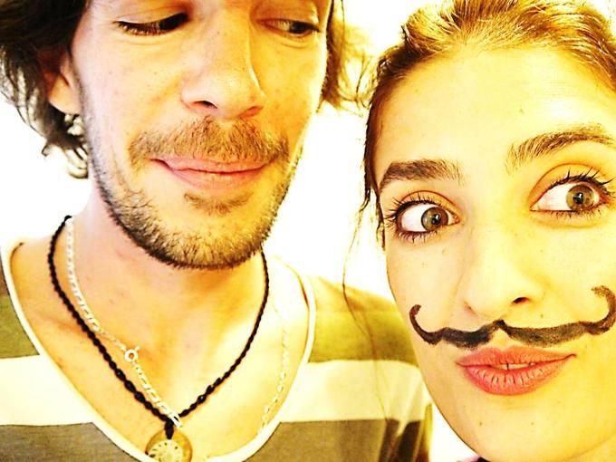 Inko Martín y Miriam Poncelas.