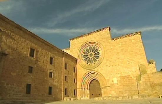 Crónicas - Interior de monasterio