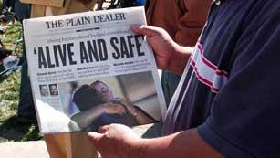 El FBI interrogará hoy a los secuestradores de Cleveland