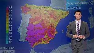 Intervalos nubosos en Galicia, Cantábrico, Estrecho, Melilla y Canarias